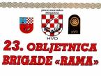 """Najava: 23. obljetnica brigade """"Rama"""""""
