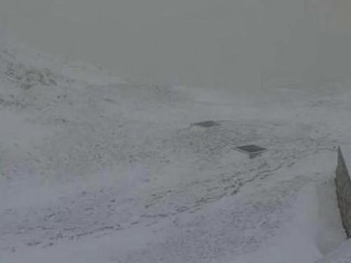 U Sloveniji pao snijeg