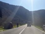 Buna: Dvije osobe ozlijeđene u prometnoj nesreći