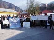 Jablanica: Održan prosvjed protiv izgradnje hidrocentrale