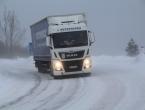 Na snazi zimski uvjeti vožnje: Moguća poledica na kolniku