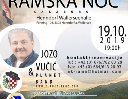 U subotu 8. humanitarna ''Ramska noć''