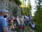 Pripadnici HVO-a, Armije BiH i Vojske RS odali počast žrtvama na Korićanskim stijenama