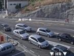 Pojačan promet vozila na izlazu iz BiH