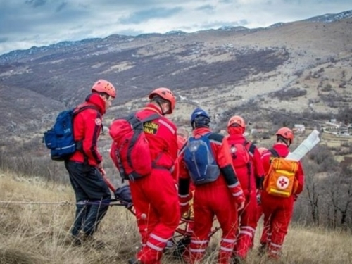 Pronađene osobe koje su se izgubile u kanjonu Volujaka kod Rame