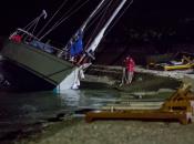 Olujno nevrijeme poharalo Dalmaciju: Vjetar rušio stabla, nasukao brodove...