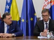 Iznenadni sastanak Dodika i Vučića u Beogradu