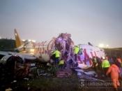 Istanbul: Zrakoplov izletio s piste tijekom slijetanja i prepolovio se