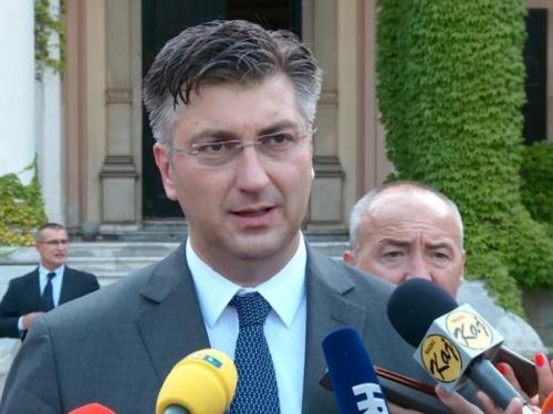 Plenković: Otpis dijela duga Vrhbosanske nadbiskupije potpora Hrvatima u BiH