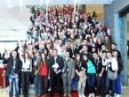 Foto: Mladi iz Rame u Sarajevu na treningu Omladinske banke