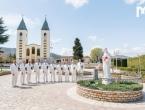 Klapa 'Sveti Juraj' HRM snimila spot u Međugorju