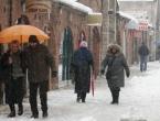 U Bosni oblačno sa snijegom, u Hercegovini bez padalina