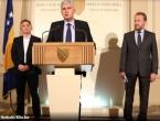 SDA, DF i HDZ potpisale sporazum o zajedničkom djelovanju u vlasti