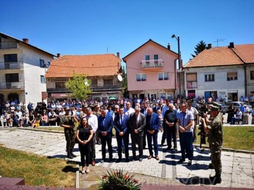 Tomislavgrad: Proslava 27. obljetnice Brigade kralja Tomislava
