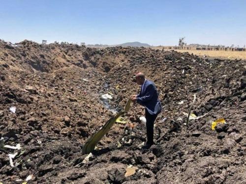 Pronađene obje crne kutije aviona koji je pao u Etiopiji