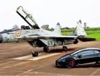 Utrka ubrzanja Lamborghinija i MIG-a