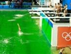 Internet se i dalje ruga organizatorima OI zbog zelene vode u bazenu