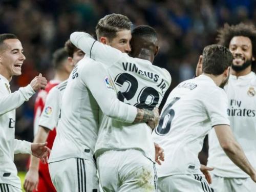 Dva gola Ramosa u pobjedi Reala nad Gironom od 4:2