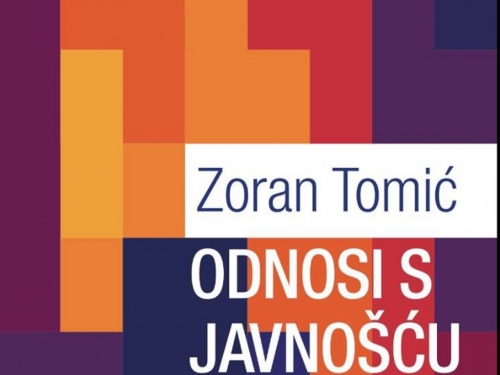 Nova knjiga prof. dr. Zorana Tomića