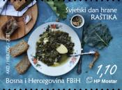 Raštika na markama HP Mostar uz Svjetski dan hrane