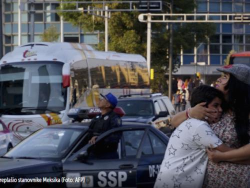 Snažan potres zatresao Meksiko: Milijuni ljudi bez struje