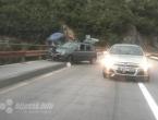 Jablanica - Mostar: Cliom se zabio u zaštitnu ogradu na mostu