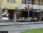 Ljubuški: Dio fasade se obrušio na terasu kafića