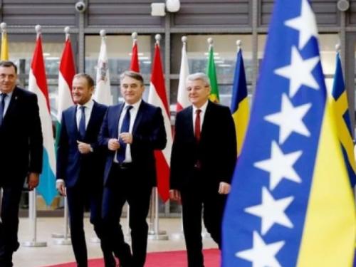 Članovi Predsjedništva BiH završili posjetu Bruxellesu: Sporazum o EU, NATO na čekanju