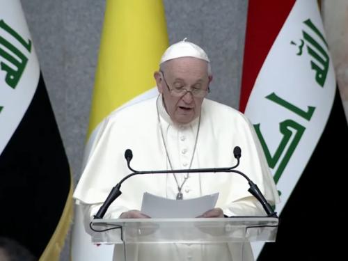 Papa u Iraku: 'Dosta nasilja, dosta ekstremizma, spletki i netolerancije'