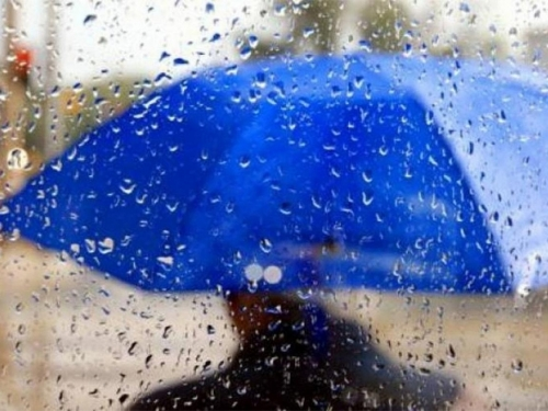 Za vikend pretežno oblačno s kišom i pljuskovima