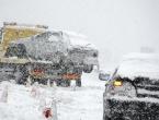 Dalmacija odsječena: Orkanski vjetar i snijeg zatvorili glavne prometnice