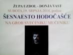Najava: 16. hodočašće na grob fra Stjepanu Barišiću