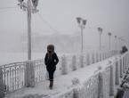 Zabilježena rekordno niska temperatura od -62 stupnja