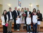 Obitelj Jeličić iz Rame krstila osmo dijete u Retkovcu