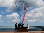 Macron i Trump odali počast ratnim veteranima iz Dana D