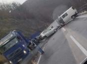 Prometna nesreća kod Jablanice, tri osobe povrijeđene