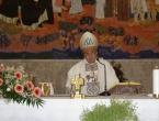 FOTO: Kardinal Puljić na dekanskom zasjedanju u župi Rama-Šćit