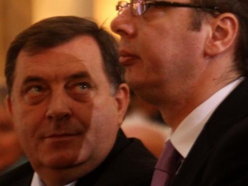 Teške optužbe Vučića i Dodika na račun Hrvatske