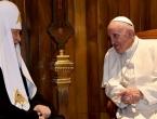 Ukrajinski katolici razočarani nakon susreta pape Franje i patrijarha Kirila