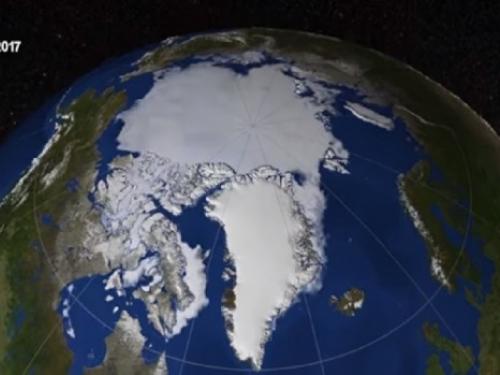 "Znanstvenici: ""Vječni led na Arktiku topi se brže nego ikada"""