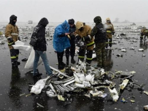 Pronađena crna kutija palog putničkog aviona