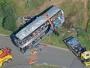 Njemačka: Devet osoba poginulo u stravičnom sudaru čak tri autobusa!