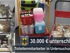 Hrvat u Njemačkoj krao kovanice iz WC-a i dokopao se 425.000 eura
