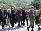 Izaslanstvo HNS-a BiH na 21. obljetnici stradanja Hrvata civila u Grabovici