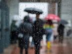 Danas oblačno vrijeme sa kišom ili lokalnim pljuskovima