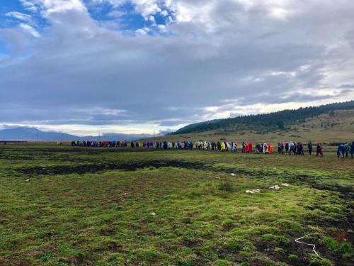 FOTO: 300 mladih na planinarskom križnom putu Bugojno - Kupres - Rama