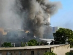 Veliki požar u Splitu, gori skladište Slobodne Dalmacije