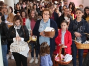 FOTO: Blagoslov uskrsnih jela u župi Prozor