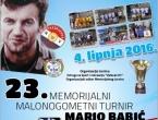 23. memorijalni malonogometni turnir 'Mario Babić'