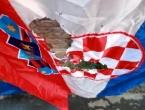 Umjetnik usred Zagreba spalio hrvatsku zastavu